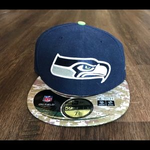 New Era Seattle Seahawks Salute to Service Hat